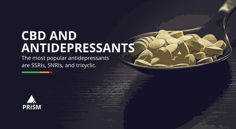 CBD and antidepressants