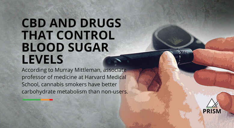 CBD and drugs that control blood sugar levels