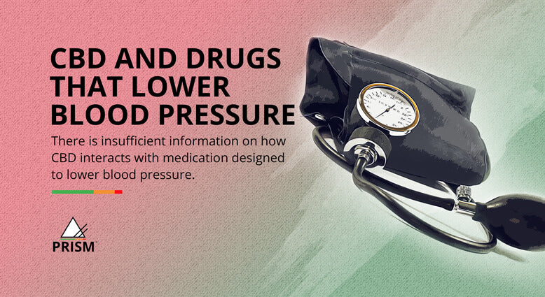CBD and drugs that lower blood pressure