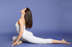 how to do onelegged king pigeon pose in yoga  yogaoutlet