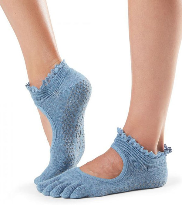Toesox Bella Full-Toe Yoga Grip Socks