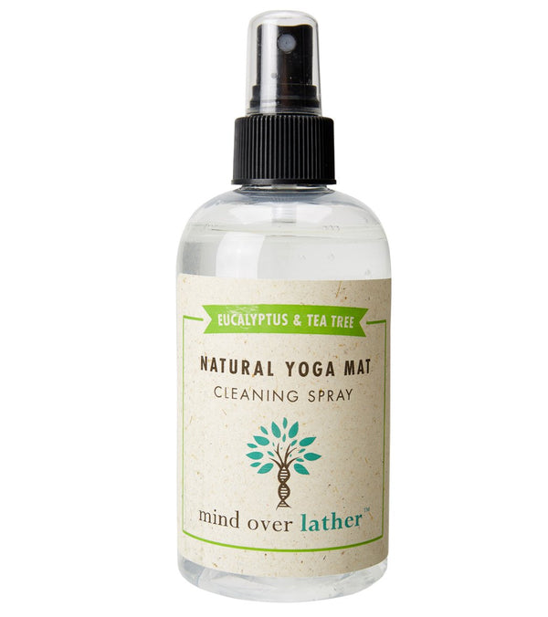Mind Over Lather Spray Nozzle Yoga Mat Cleaner - Eucalyptus & Tea Tree