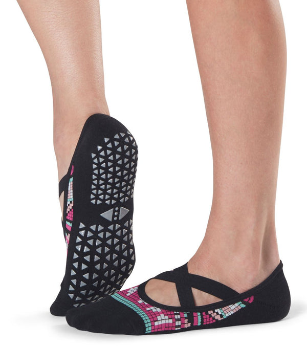 Tavi Noir Chloe Barre Grip Socks