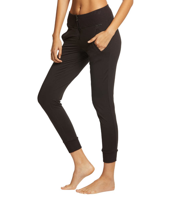 Betsey Johnson Performance Front Zipper Joggers