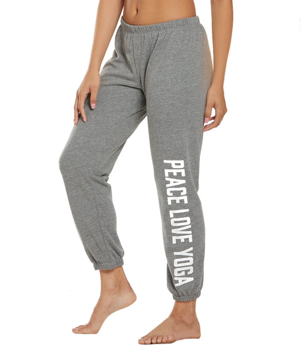 Spiritual Gangster Peace Perfect Sweatpants