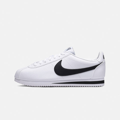 Classic Cortez Leather   White/Black