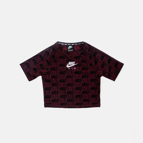 Wmns Nsw Air Top   Night Maroon
