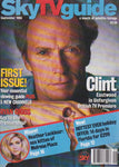 Sky Tv Guide Magazine - Clint Eastwood cheryl ladd