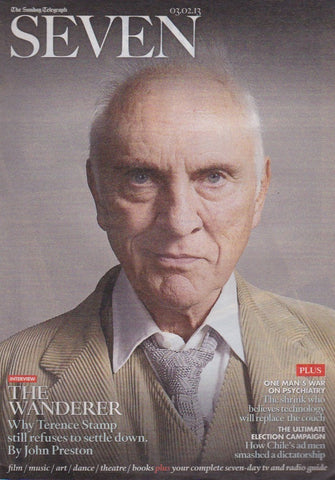 Seven Magazine - Terence Stamp