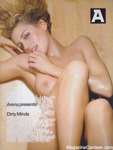 Arena Supplement magazine - Dirty Minds Rankin Nudes