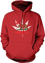 Load image into Gallery viewer, California Weed Leaf Hoodie Sweatshirt