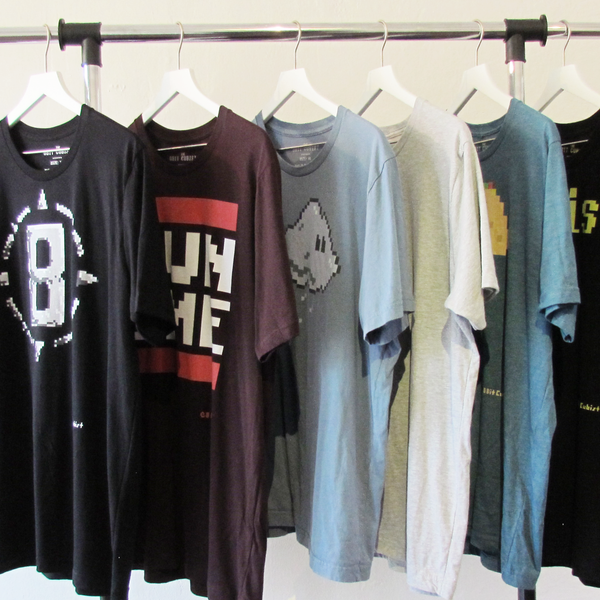 8BitCubist Teeshirt Set 1