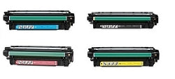 HP Laserjet CM3530 4 Pack Toner Top Quality Combo  CE253A-PSS High Yield