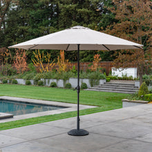 Load image into Gallery viewer, 11' Sunbrella® Aluminum Market Umbrella - Cast Shale