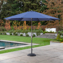 Load image into Gallery viewer, 11' Sunbrella® Aluminum Market Umbrella - Canvas Navy