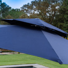 Load image into Gallery viewer, 11' Sunbrella® Round Offset Umbrella - Canvas Navy