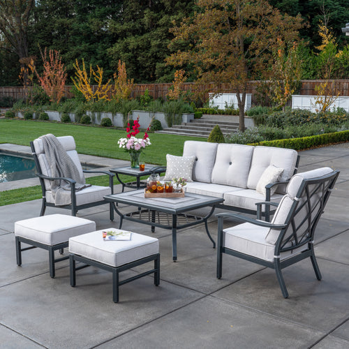 Carnegie 7pc Deep Seating Set