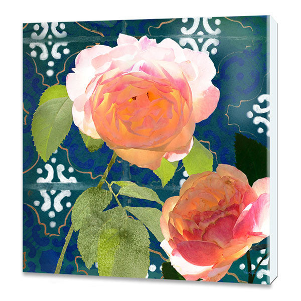 Ravello Roses 02 PRINT ON CANVAS