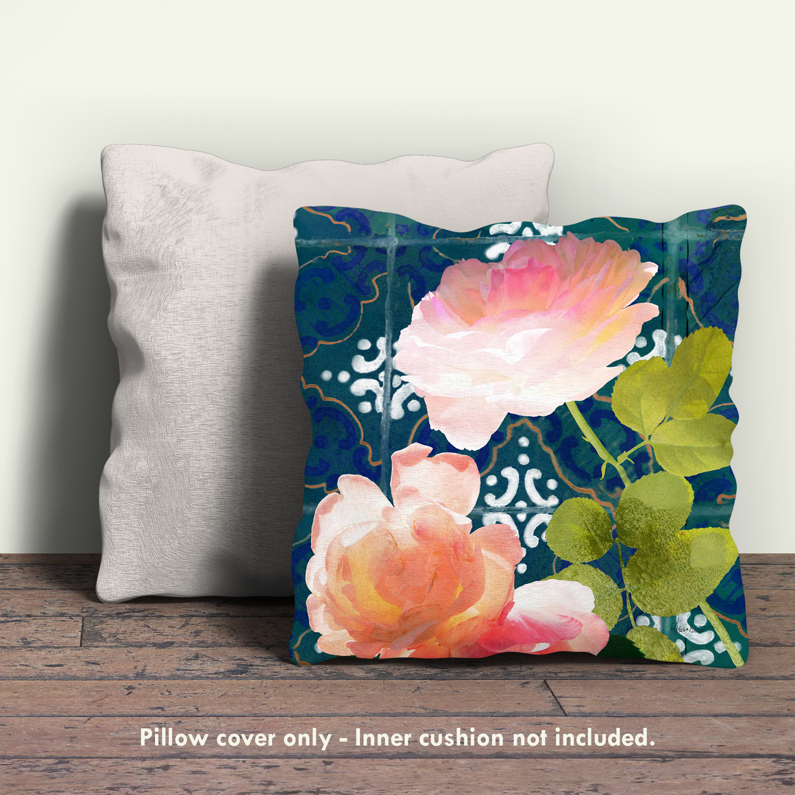 Ravello Roses 01 Pillow Cover