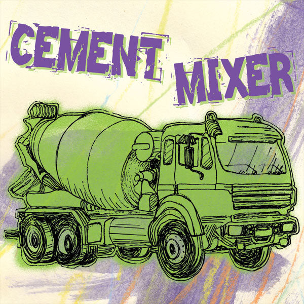 Trucks: Cement Mixer, Purple