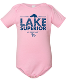 My Great Lake Superior Baby Onesie