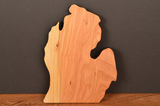 Michigan Lower Peninsula Cherry Cutting Board