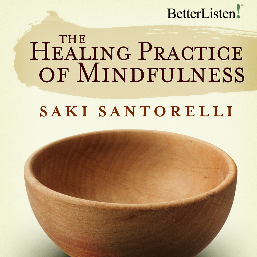 The Healing Practice of Mindfulness with Saki Santorelli - BetterListen!