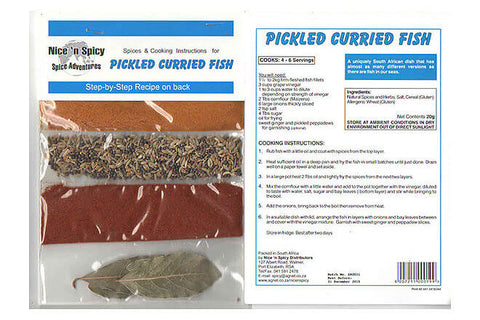 Nice and Spicy Pickled Fish Spice Mix 20g