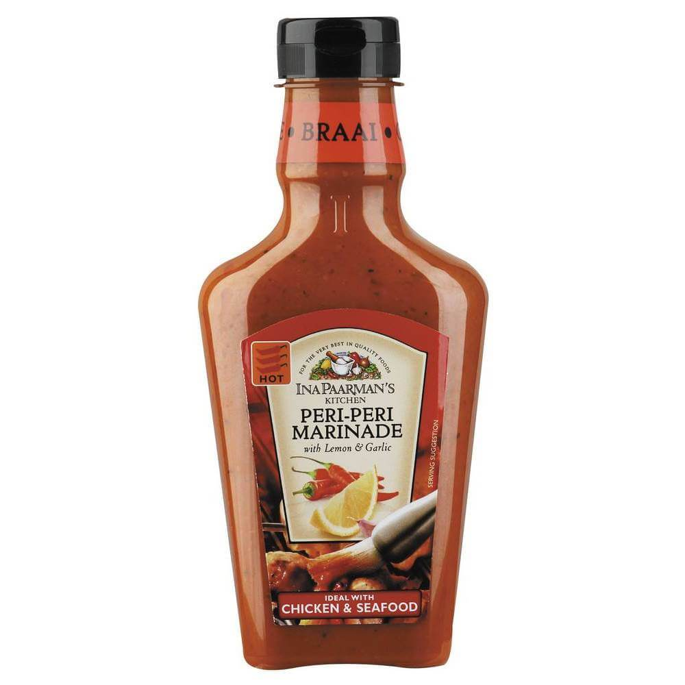 Ina Paarman Peri Peri Marinade with Lemon and Garlic (Kosher) 500ml