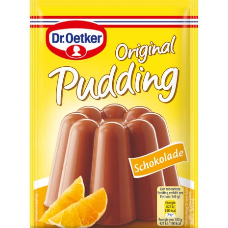 Dr Oetker Original Chocolate Pudding (Pack of 3) 133.5g