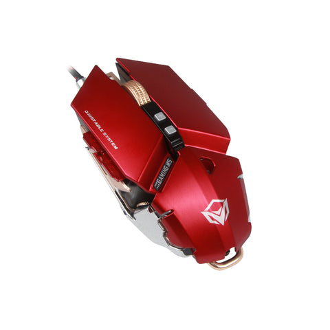 USB Wired Pro Gaming Mouse 800 - 4000 DPI - Red