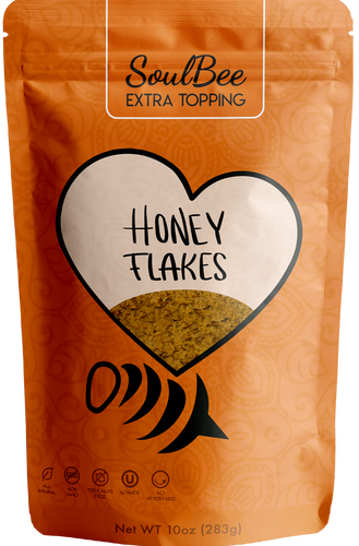 HONEY FLAKE 10oz - SoulBee