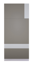 C Width - White Lacquer Mix Bisa Wall Panel