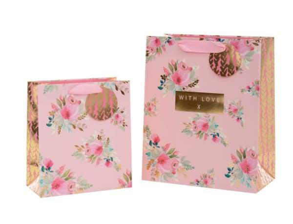 Beautiful Gift bag With Love Logo large - Gift wrappings and cards