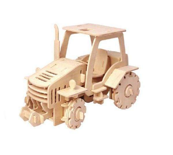 Remote Control Tractor 3D Puzzle Toy For Kids & Adults - toy