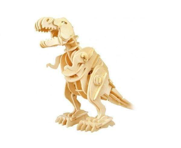 Sound Controlled T-Rex 3D Dinosaur Toys Kit - toy