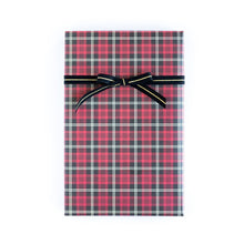 Load image into Gallery viewer, PGW310- PLAID WRAPPING PAPER TARTAN/CABANA STRIPE