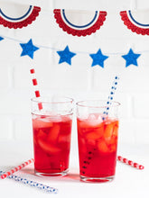 Load image into Gallery viewer, SSP730 - STARS & STRIPES STRAWS