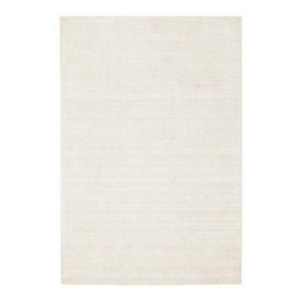 Allure Rayon Rug Ivory White