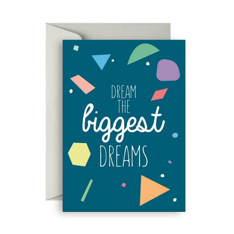 Van Wright Foundation Dream The Biggest Dreams card