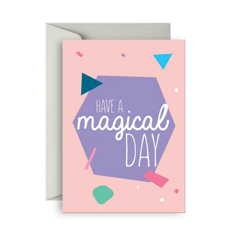 Van Wright Foundation Have A Magical Day card