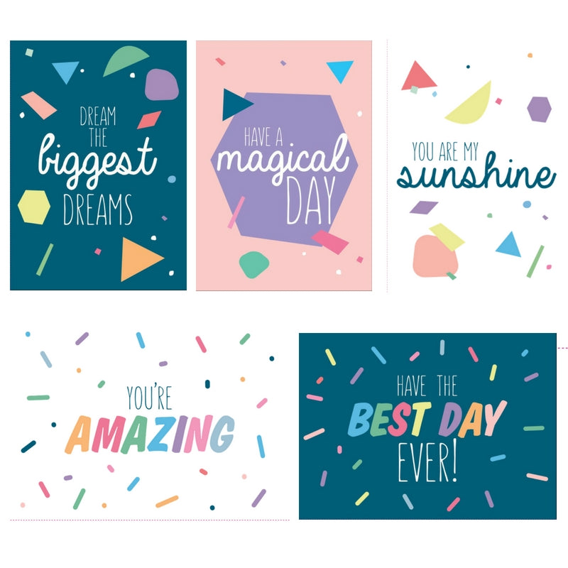 Van Wright Foundation Greeting Cards Birthday Cards 5 Pack