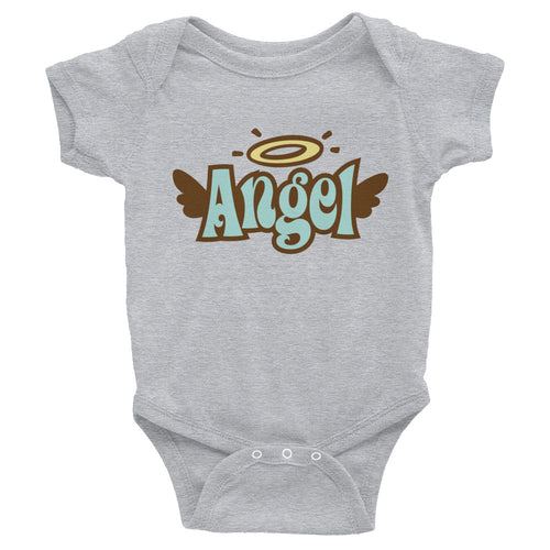 Infant short-sleeve bodysuit