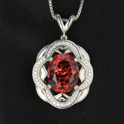 Imperial Zircon Pendant by Christopher Michael