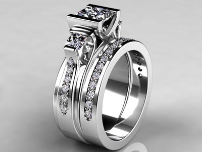 Custom Designed Engagement Ring by Christopher Michael