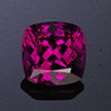Purple Violet Cushion Cut Garnet Gemstone 4.24 Carats