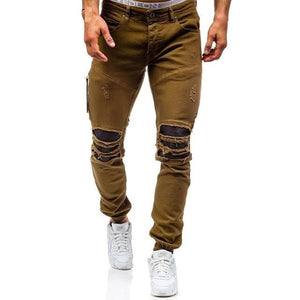 Men's Ripped Jeans Street Style 3 Different Colors