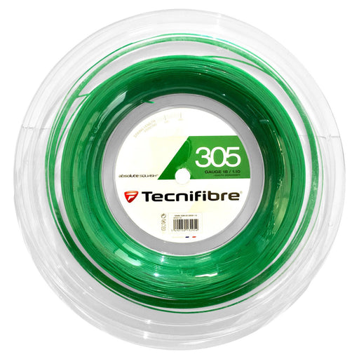 Tecnifibre 305 Green 18 Squash String Reel - atr-sports