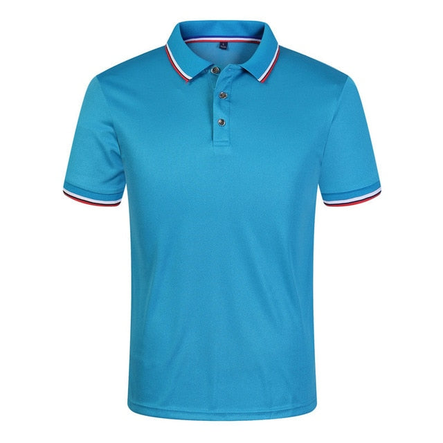 New 2019 Solid Color Summer Polo Shirts Men Cotton Short Sleeve Breathable Anti-Pilling Brand polos para hombre Plus Size S-3XL