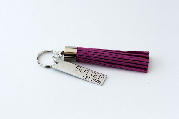 Tassel Key Chain - Spring Edition